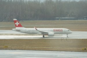 Helvetic, Swiss Bombardier CS300 Airbus A220 18. 01. 2019