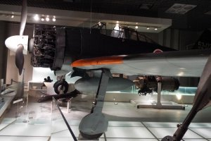 Mitsubishi A6M Zero (Natural Science Museum) Tokio