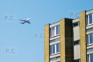 jumbo jet over ywca harlow 2007