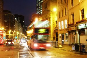 london red doubledecker night photo przemysl.JPG